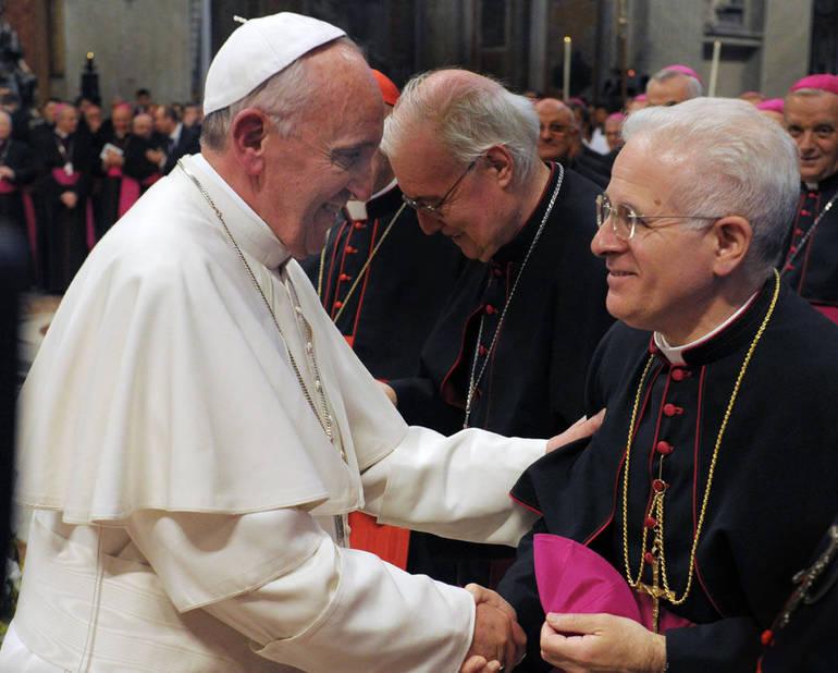 Celebrazione in parrocchia del Vescovo S.E. Mons. Crociata